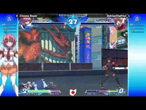 BADC 8/16 Arcana Heart 3 LOVE MAX!!!!! Chrono Reyer vs. Delrian |