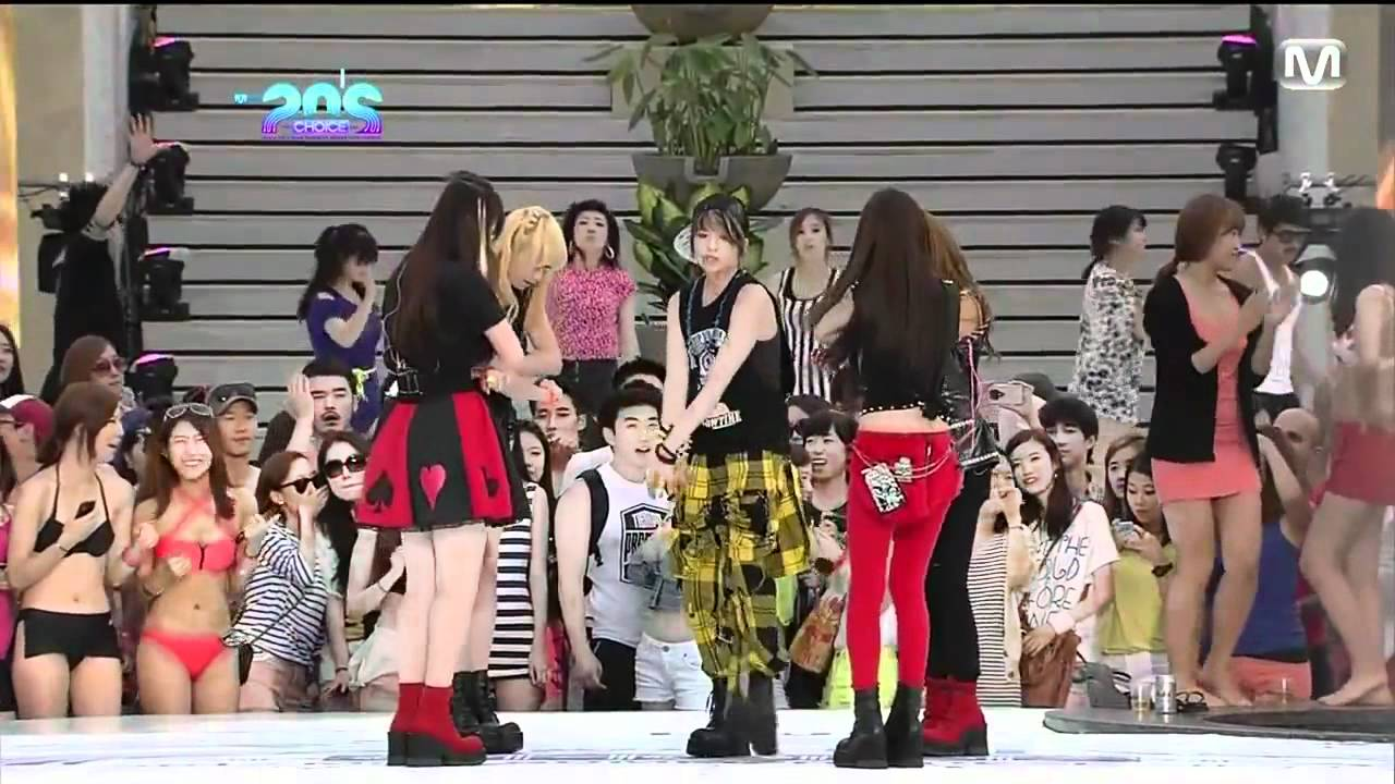 120628 f(x) - Electric Shock HD720p @Live at Mnet - YouTube F(x) Electric Shock