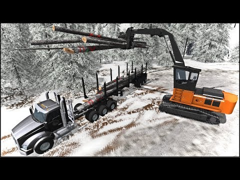 THE ULTIMATE LOGGING MAP | Farming Simulator 2017