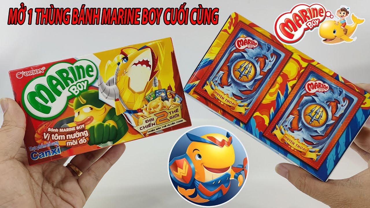 Mở 1 Thùng Bánh Cá Marine Boy Cuộc Đua Đại Dương Cuối Cùng Trên Toy Channel