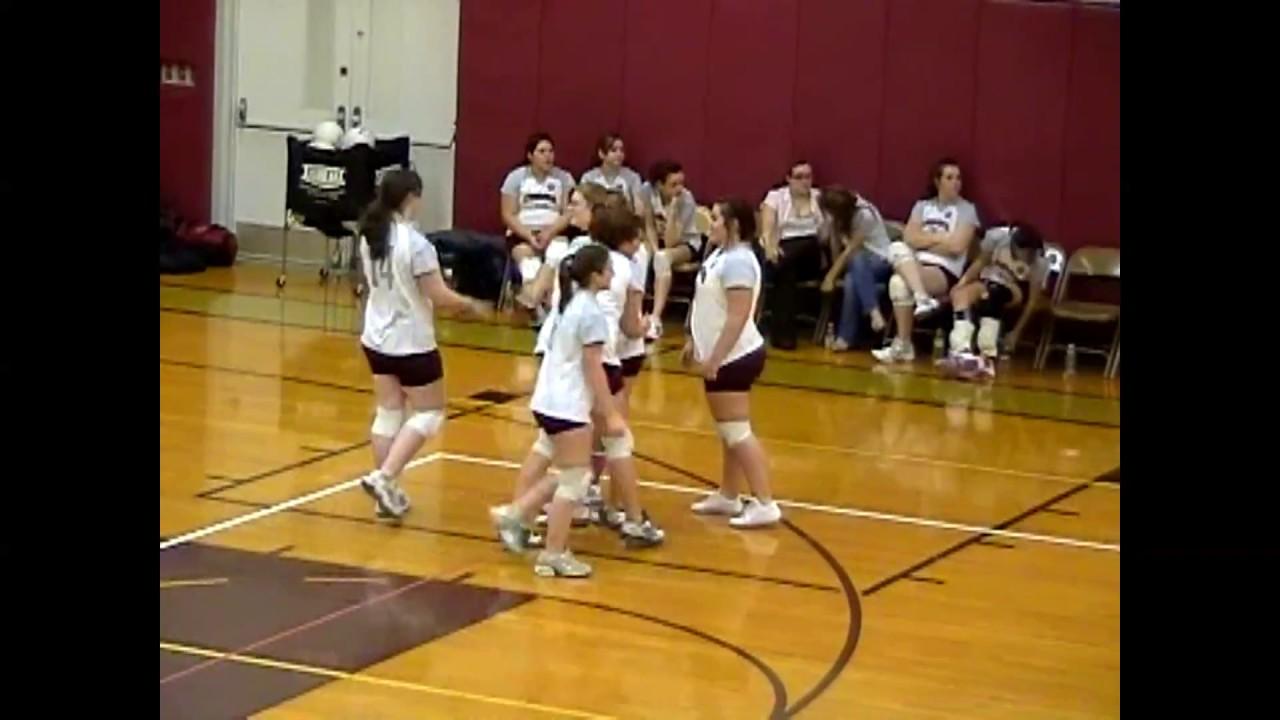 NCCS - Saranac Lake JV Volleyball  12-7-09