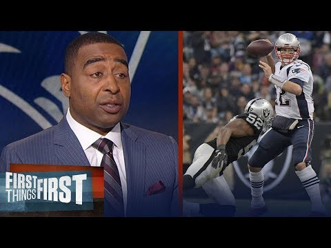 Nick and Cris react to the Patriots 33-8 win over the Raiders during Week 11 | FIRST THINGS FIRST