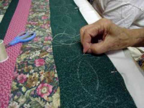 Thursday S Quilting Group Hand Quilting Youtube