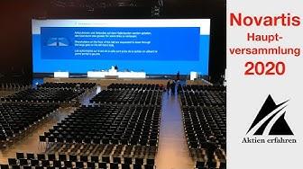 Novartis Generalversammlung 2020 - Leben von Dividenden - www.aktienerfahren.de