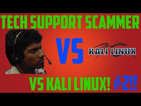 Tech Support Scammer vs Kali Linux #2