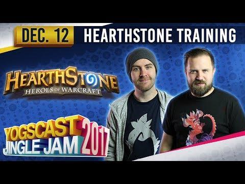 TURPS, SJIN & HAFU - Hearthstone Training - YOGSCAST JINGLE JAM - 12th December 2017