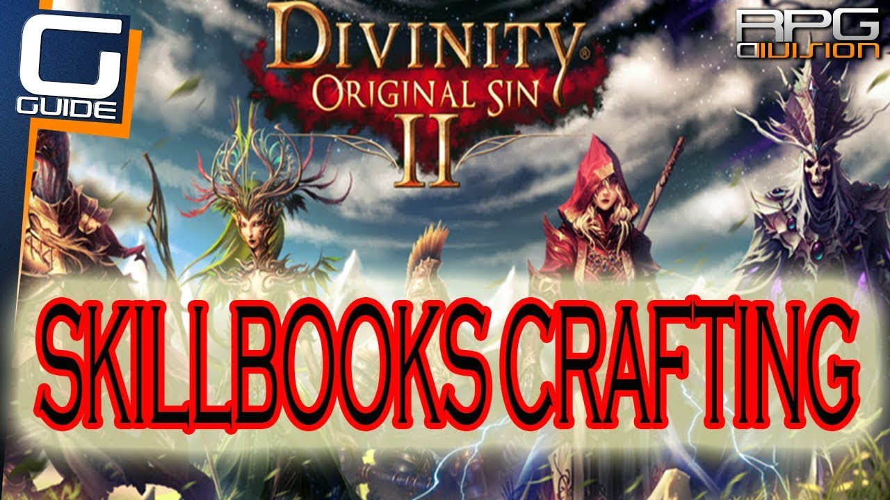 Crafting Books Divinity Original Sin