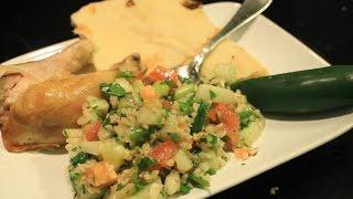 How To Make Tabouli Salad ~ Tabbouleh ~ Vegan Recipe