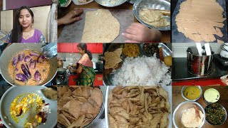 Complete Lunch | Wet Grinder Opening | పిల్లలికి ఈ Snacks చేసి పెట్టండి..గోధుమ పిండి Biscuits