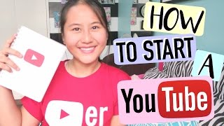 How to Start a YouTube Channel | Lexy Rodriguez