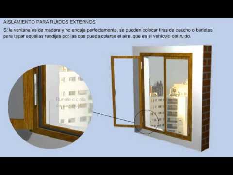 Insonorizar una vivienda youtube for Materiales para insonorizar