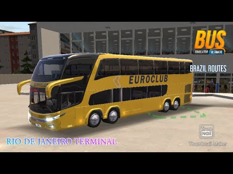 euroclup-skin,-bus-simulator-ultimate,-trip-in-brazil-route,-rio-de-janeiro-to-to-belo-horizonte-atg