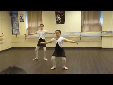 Ballet 1 & 2 End-of-year Open Class - Centre temps lies (part 6 )