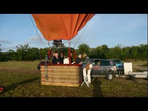 Ballade en montgolfière au-dessus du Golfe du Morbihan