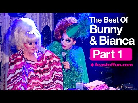 Bianca Del Rio & Lady Bunny are Hilarious! Part 1