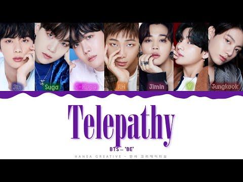 BTS - 'Telepathy' Lyrics Color Coded (Han/Rom/Eng)