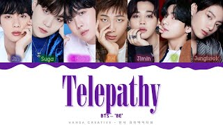 BTS - 'Telepathy' Lyrics Color Coded (Han/Rom/Eng)