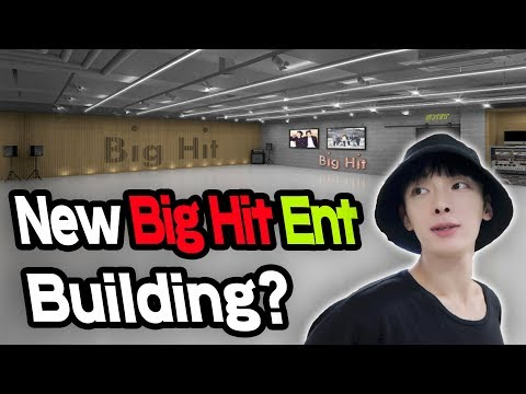 Let's go to New Big Hit Ent building, where BTS was born.