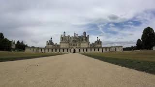 Humberto the Hymer - Cycle ride from Bracieux to Chambord