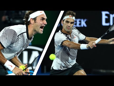The Day Roger Federer's Backhand Was Unstoppable (60FPS)