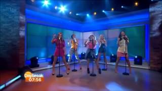The Saturdays - What About Us (Live Daybreak)