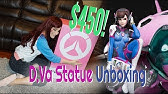 Overwatch D.Va Statue Unboxing! INSANE $450 Figure