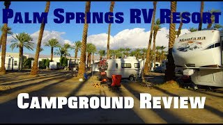 Palm Springs RV Resort Review - Thousand Trails (Encore) Review (88)