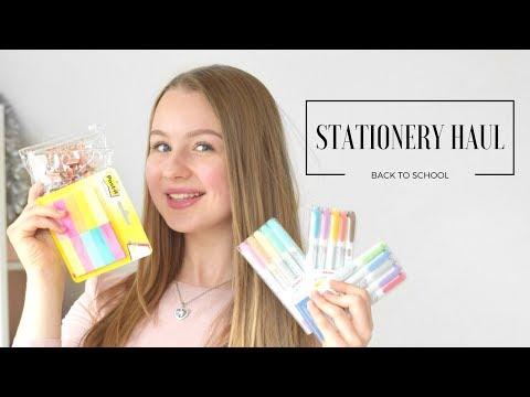 STATIONERY & SCHOOL SUPPLIES HAUL | Back To School
