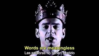 depeche mode enjoy the silence subtitulos ingls y espaol