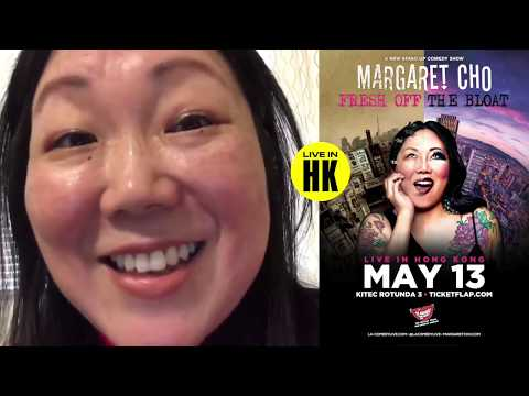 Margaret Cho Greeting - Hong Kong