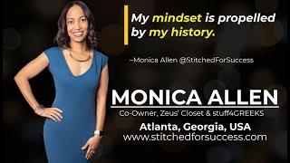 Monica Allen is a Feaŗless Entrepreneur