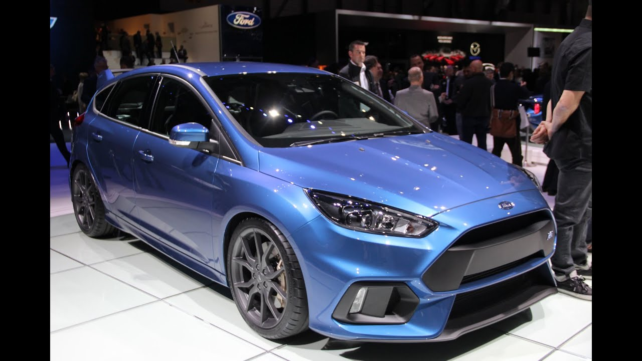2016 ford focus rs 2015 geneva motor show youtube. Black Bedroom Furniture Sets. Home Design Ideas