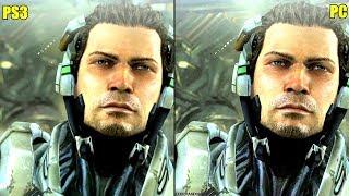 Vanquish Pc Vs PS3 Graphics Comparison