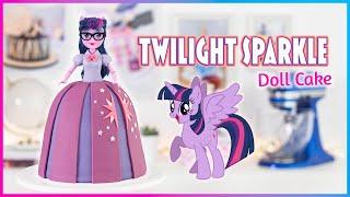 MY LITTLE PONY - Easy TWILIGHT SPARKLE Doll Cake - Equestria Girls - Tan Dulce