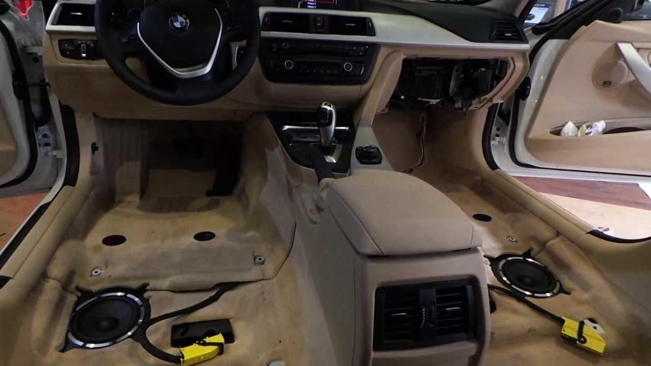 CARAUDIOSOUL 2013 model BMW F30 316i 320D 3 yollu muzik sistemi uygulama