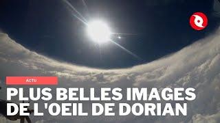 Les images les plus impressionnantes de l'oeil de l'ouragan Dorian