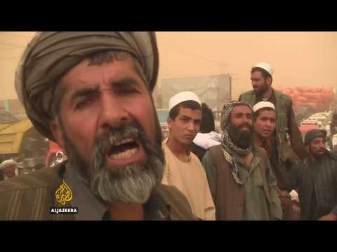 Afghan civilians killed in NATO air strike in Kunduz