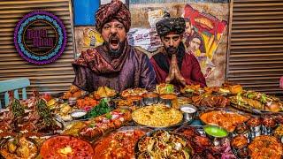 تحدي منيو كامل مطعم بابا خان 🍛 Menu Challenge Baba Khan