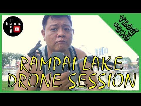 KUALA LUMPUR DRONE SESSION BESIDE RAMPAI LAKE WANGSA MAJU