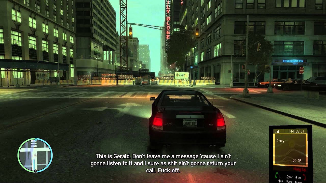 Your Request #4 - All GTA IV Voicemails