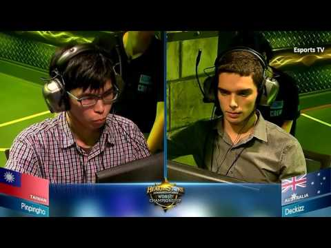 Pinpingho vs Deckizz | Hearthstone World Championship 2015 Asia Pacific | HS Esports