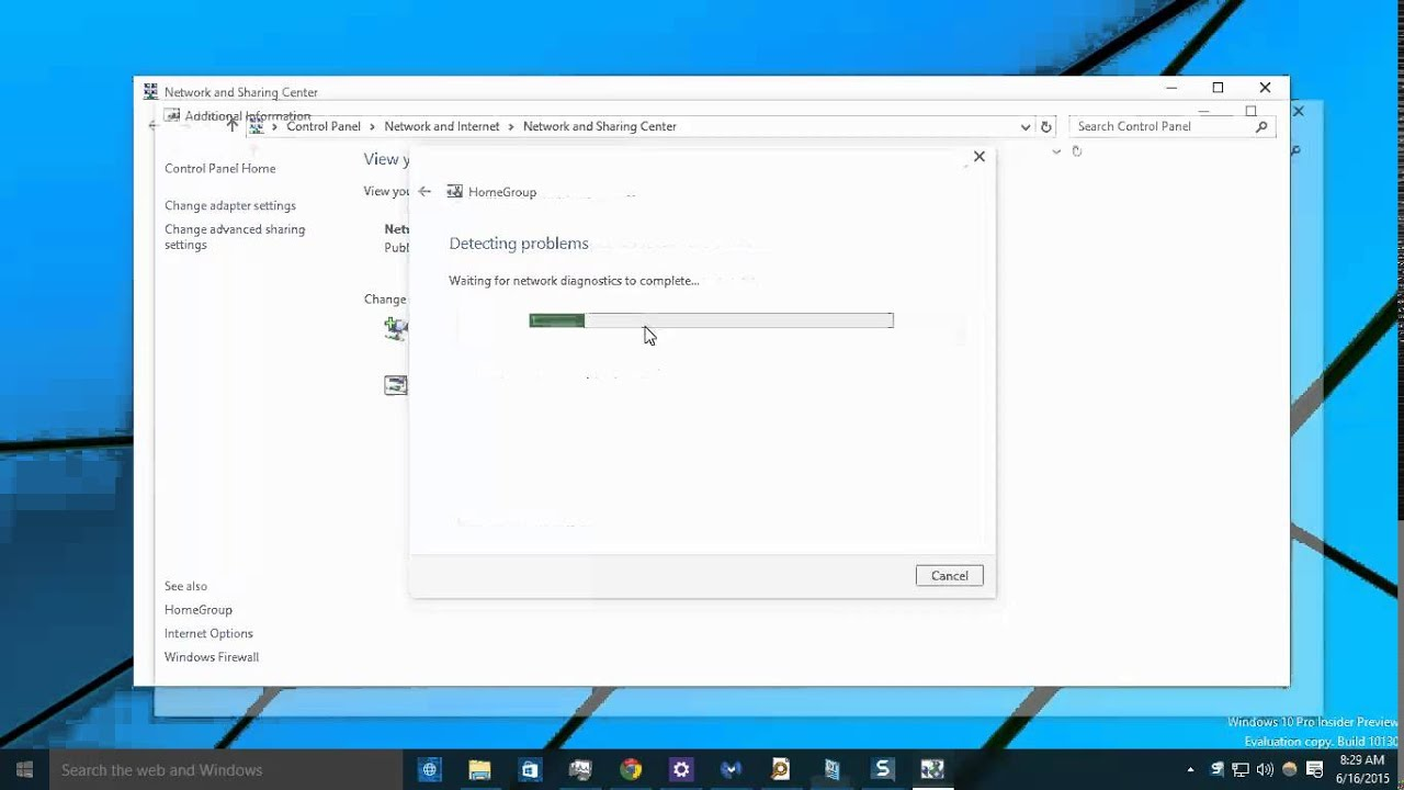 how to change from public to private on windows 10