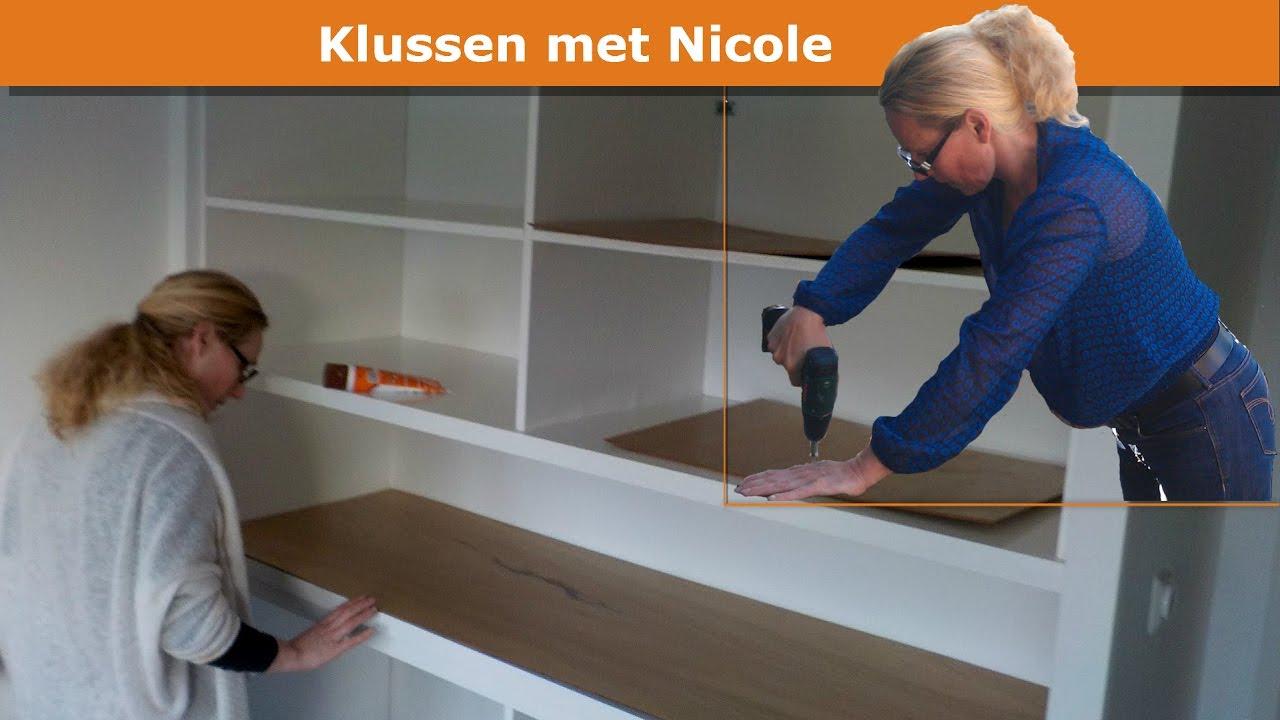 Nicole Bouwt Grote Kledingkast In Slaapkamer Built In Wardrobe
