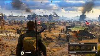 COD WW2 MULTIPLAYER GAMEPLAY WORLD REVEAL (Call of Duty WWII)