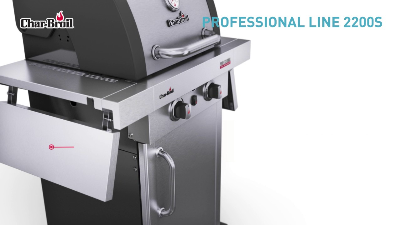 char broil professional 2200s gasgrill entdecke alle features youtube