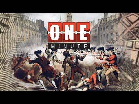 Crispus Attucks and The Boston Massacre - American Revolutionary War - One Minute History