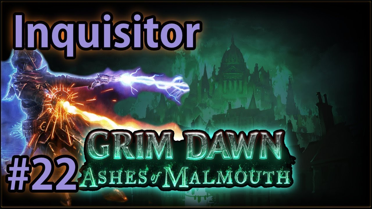 Journey to Barrowholm - #22 Inquisitor - Let's Play Grim