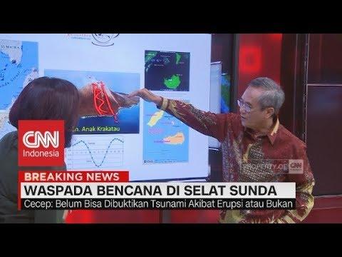 Ahli GeoDinamika: Seharusnya Retakan Gunung Anak Krakatau Bisa Ditahan Oleh 'Ibu' nya