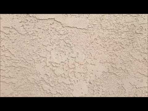 New Stucco And Stucco Repair On A Chimney