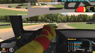 iRacing - AMAZING! - Mazda MX5 @ - Lime Rock Park (Chicane) - 60 FPS